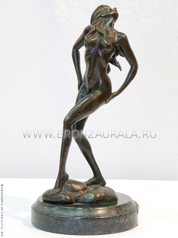 Фигурка из бронзы стриптиз