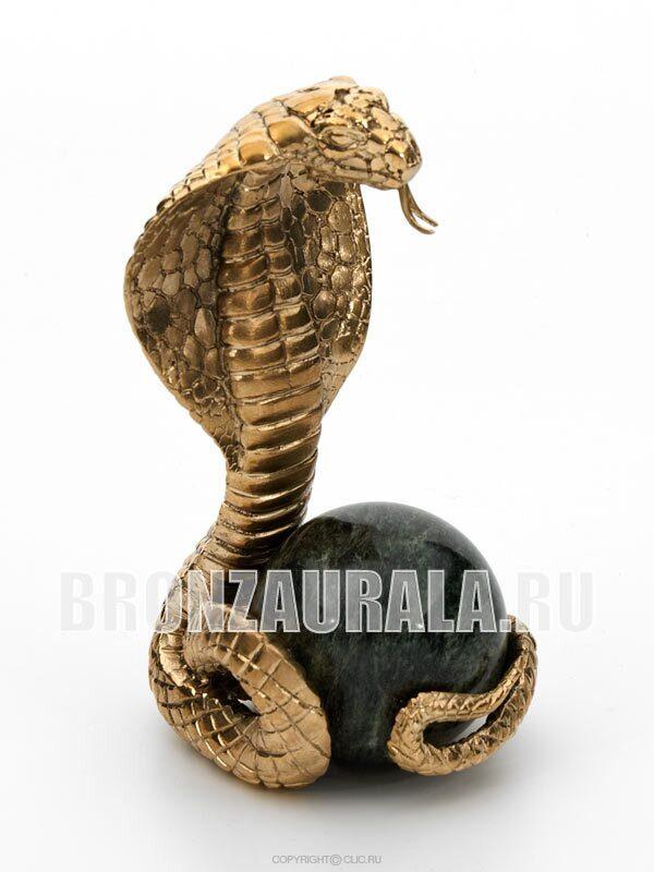 Змея статуэтка подарок