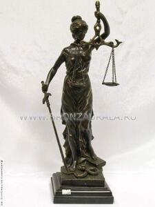 Скульптура Фемида, After Virtus